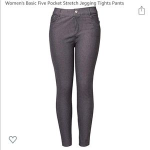 55% OFF ⬇️$35 GREY 5-Pocket S/M High Waist Jegging